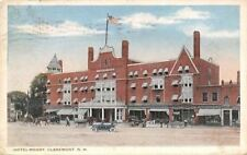 Claremont New Hampshire~Hotel Moody~Coal~Furniture~Tailor~Shops~1920s PC