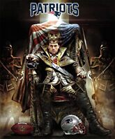"Tom Brady - Game Of Thrones American Patriot New England Patriots 24""x30"" Poster"