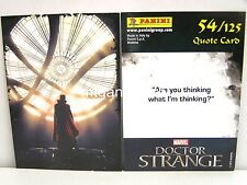 Doctor Strange Movie Trading Card - 1x #054 cuota Card-TCG