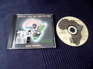 CD Hugh Mundell - Africa Must be Free By 1983 + The DUB Versions RAS 1989 Reggae