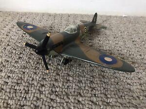 Old Vintage Diecast Dinky Toys WWII Spitfire Fighter Plane NICE MODEL