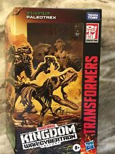 Transformers Kingdom Deluxe Series Figure PALEOTREX War for Cybertron