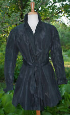 Antique Black Silk Taffeta Jacket - 1890's Soutashe Tassels Evening Jacket