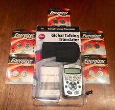 Nyrius Global Talking Translator Lt12 Foreign Languages Handheld + 12 Batteries!