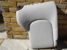 MERCEDES C CLASS COUPE C200 W203 CL203 REAR BACK REST GREY LEATHER