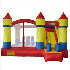 Castle Bounce House With Slide Inflatable Toys For Kids Jumping Inflatable Toys