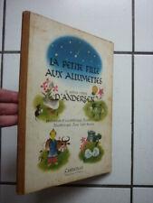 ENFANTINA  / LA PETITE FILLES AUX ALLUMETTES  / ILLUSTRATIONS  HUENS /  1945
