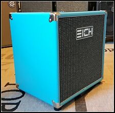 EICH AMPLIFICATION 112XS-8 CUSTOM COLOUR TURQUOISE!*100% MADE IN GERMANY!*DEAL!*