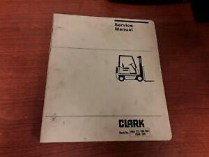 Clark PMA 273 10th Rev. C500 355 Forklift Service Manual