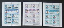 Seychelles 1981 Royal Wedding Sheetlets MNH UM unmounted mint