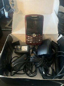 BlackBerry Curve 8330 Sprint Mobile SILVER Smartphone Wireless Cell qwerty 3G