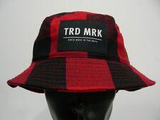 H&M - Rouge et noir carreaux - taille moyenne chapeau bob soleil bob