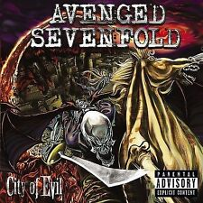 AVENGED SEVENFOLD - CITY OF EVIL NEW VINYL RECORD