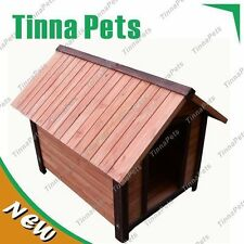Large  Classic Cabin Timber Dog Kennel House T014 FREE PICK UP1110*840*860 mm