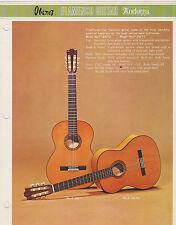 VINTAGE MUSICAL INSTRUMENT CATALOG #10427 - 1970s IBANEZ GUITARS - FLAMENCO etc