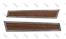 71 72 73 Ford Mustang Door Panel Insert, Woodgrain, Pair