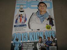 SOCCER 360 Issue 43 2013 Kick Off CR7 vs LEO Gareth BALE Ramos + MESSI POSTER