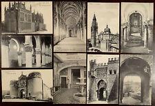 9 Postcards Toledo Spain ca.1908-1920 Puerta De Visagra Puerta Del Sol Ajilana