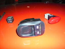 Peugeot 206 1999 1.1 3dr  Pair electric Window Switches