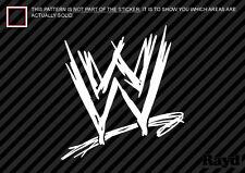 (2x) WWE Sticker Decal world wrestling entertainment