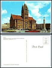 SOUTH CAROLINA Postcard - Anderson County Court House & Confederate Monument N9