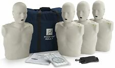 Prestan AED CPR Training Manikins with Mon 4 Pack Adult Light Skin PP-AM-400M