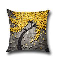 Vintage Cushion Cover Pillow Case Cotton Linen Throw Waist Sofa Home Decorations