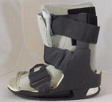 EBI Sports Medicine Brand Ankle Leg Cast Brace in Adult Size Medium Gray & Black