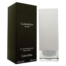 Parfum CALVIN KLEIN CK CONTRADICTION MEN Edt 100ml Neuf Sous Blister