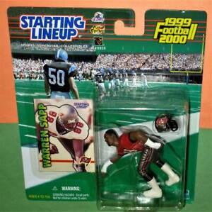 1999 WARREN SAPP Tampa Bay Buccaneers Rookie NM+ *FREE s/h* sole Starting Lineup