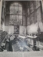 Photo article Adoration of the Magi Kings College Chapel Cambridge 1964 ref AY
