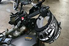 Lidlox Grip Tip Helmet Lock Pair for Yamaha FJ09, Black.