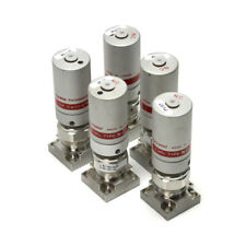 (Lot of 5) Fujikin NSDB-21-6.35-APY 2-Port C-Seals Diaphragm Air Valves 401180