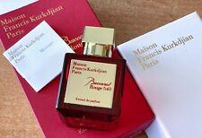 Maison Francis Kurkdjian Baccarat Rouge 540 70 ml 2.4 fl. oz. Extrait de Parfum