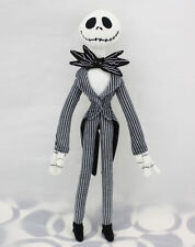 Disney The Nightmare Before Christmas Jack Skellington Poseable Plush Doll 12""