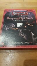 New listing Ravenloft - Masque of the Red Death and Other Tales-Ad&D Ravenloft Boxed Set