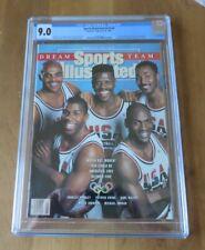 Sports Illustrated 1991 CGC 9.0 Dream Team Michael Jordan RARE