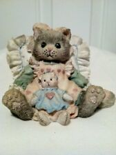 Enesco - Calico Kittens - Friends Are Cuddles of Love