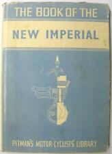 NEW IMPERIAL SV & OHV Models 1935 on,  6th Ed 1950 Motorcycle Owners Handbook