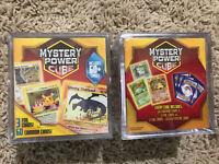 Pokemon Mystery Power Cube Lot Of 2 Possible Charizard Foil Base Set!