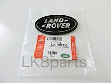 Range Rover Sport Supercharged Tailgate Emblem Black Land Rover Logo Oval Badge