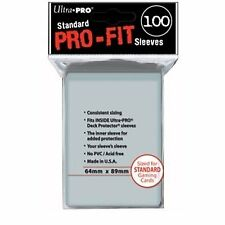 100 Ultra PRO Pro Fit Inner Card Sleeves - Standard Size 64x89 mm - 82712