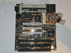 486 Motherboard LS-486E REV:C1 + AMD 5x86-P75-133 + 32MB RAM