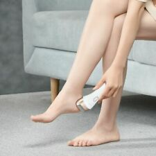 Cordless Electric Foot Callus Remover 3 Roller Heads 2 Speed Setting Rechargeabl