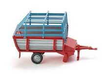 WIKING 038101 1:87 Wagon de chargement foin rouge/gris neuf emballage d'origine