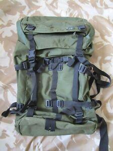 MAG MOR army RUCKSACK GREEN hiking BUSHCRAFT walking camping BAG prepper VGC 55L