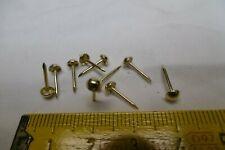 Clous de tapissier (lot de 200) ACIER LAITONNE Ø 4 mm, décoration (réf 4La)