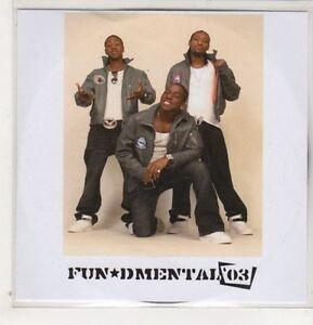 (GS759) Fun*dmental 03, 6 track album sampler - DJ CD