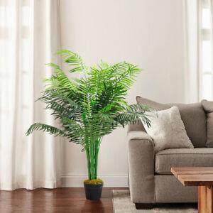 Artificial Palm Tree Pot Fake Garden Outdoor Plant Home Decoration 130cm