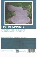 Layout Landworks Design Group DIY Landscape Plans Overlapping Circles Patio